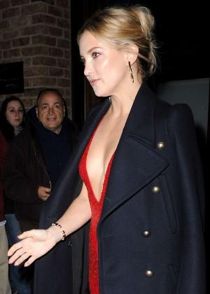 Kate Hudson - Leaves her TriBeCa Hotel in NY