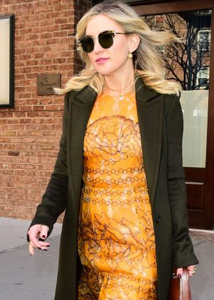 Kate Hudson Leaves the Greenwich Hotel in New York City