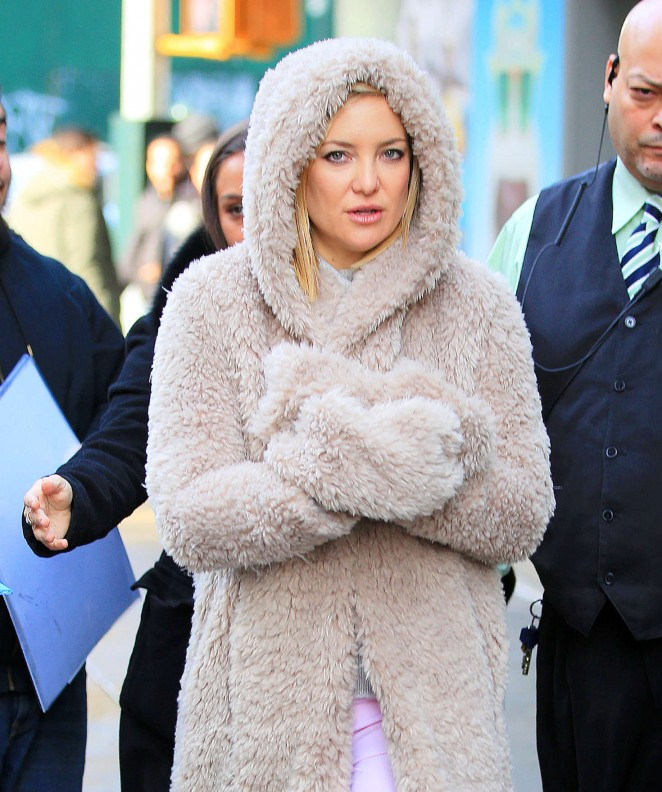Kate Hudson - Leaves the Greenwich Hotel in New York City