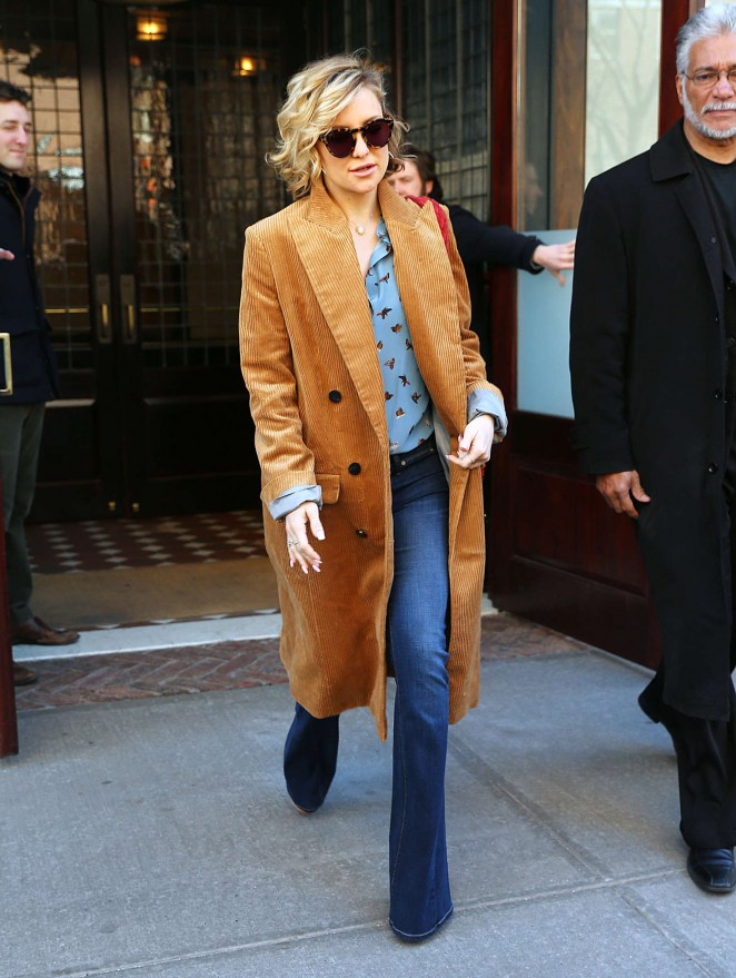 Kate Hudson – Leaving her hotel in New York City