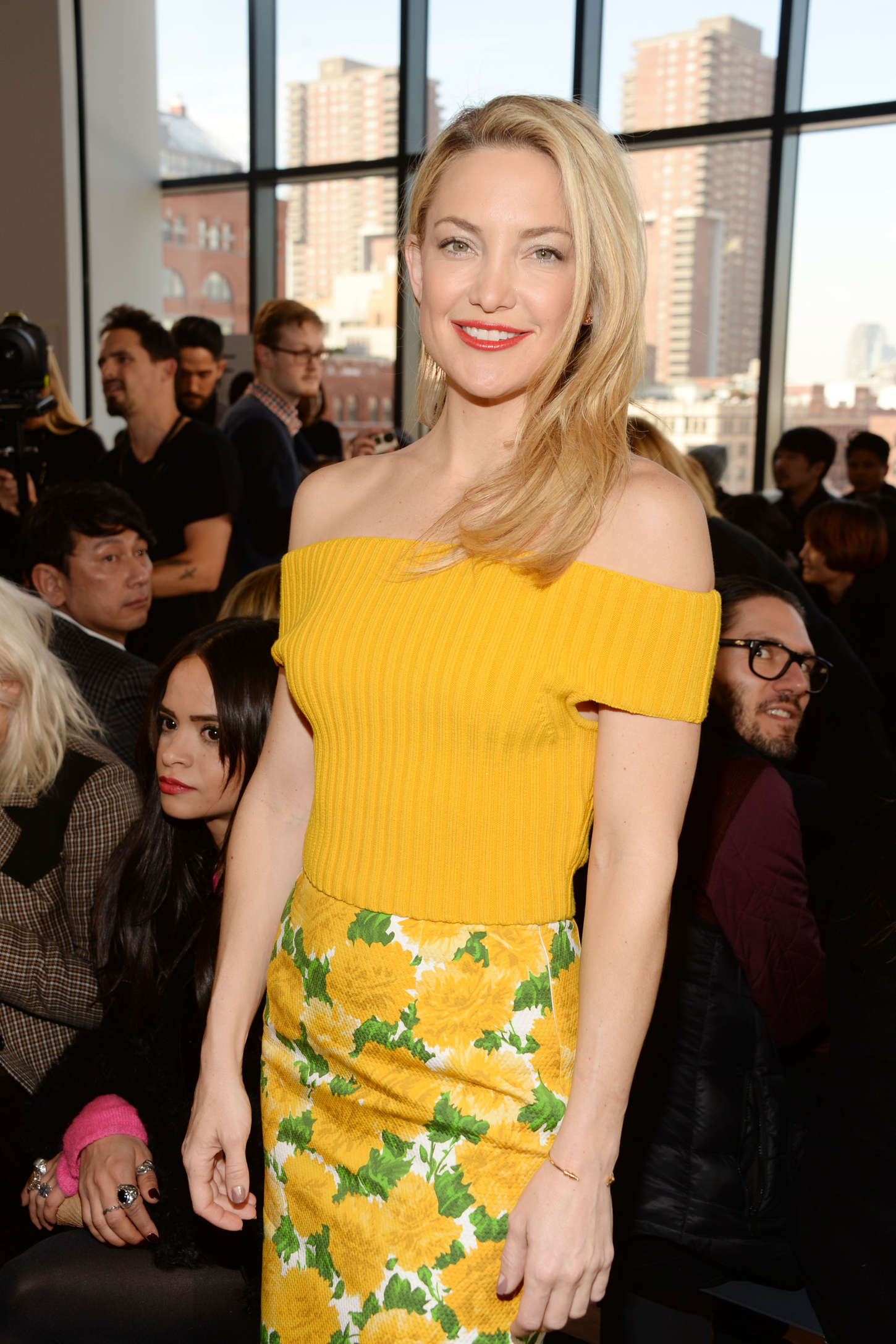Kate Hudson - Michael Kors Fashion Show 2015 in NYC