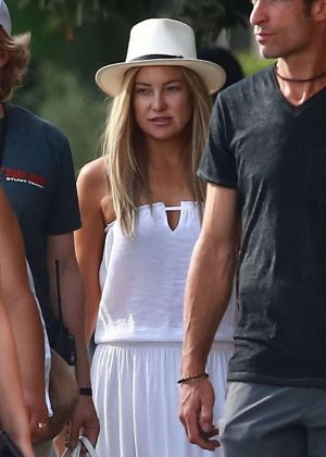 Kate Hudson on the set of Sia's new project in Los Angeles