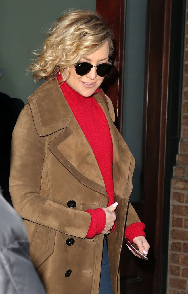 Kate Hudson out in New York City
