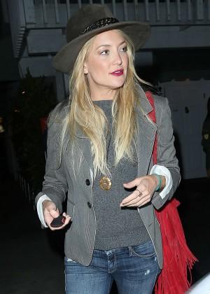 Kate Hudson in Jeans at Giorgio Baldi in Los Angeles