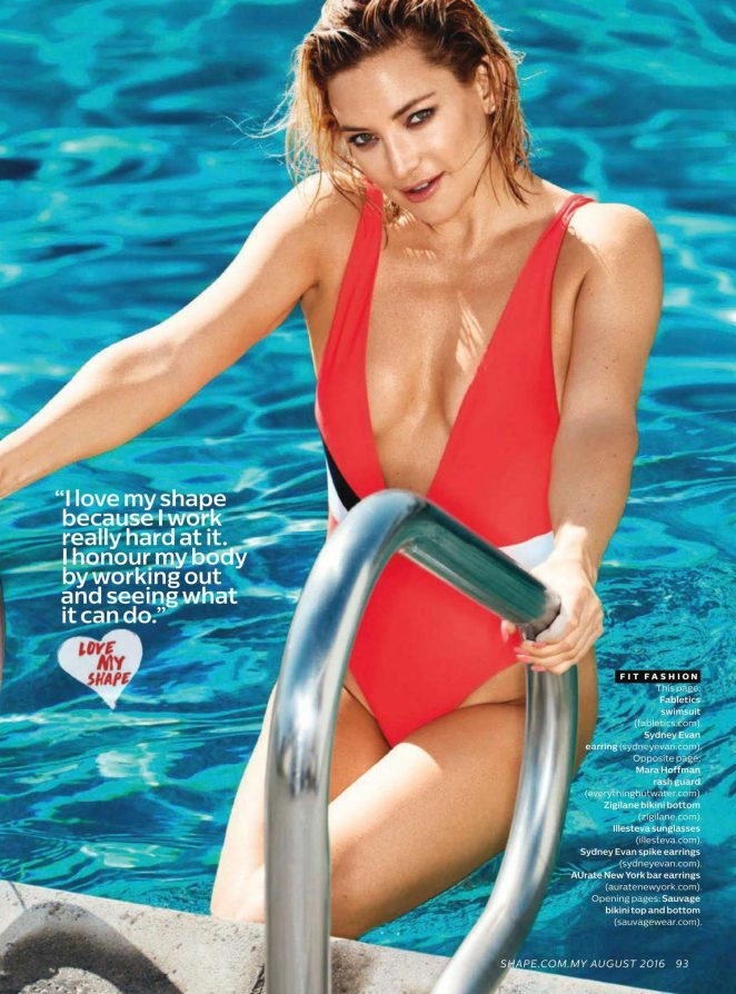 Kate Hudson – Shape Malaysia Magazine (August 2016)