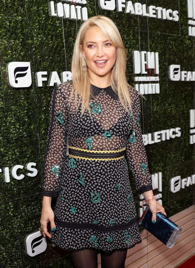 Kate Hudson - The 'Demi Lovato for Fabletics' Launch Party in Los Angeles
