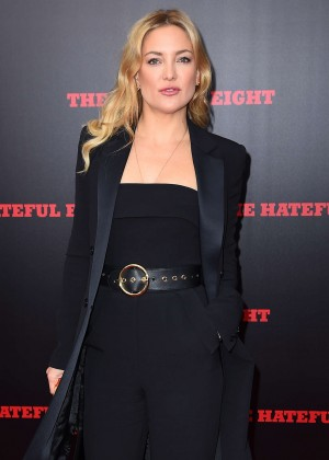 Kate Hudson - 'The Hateful Eight' Premiere in New York City