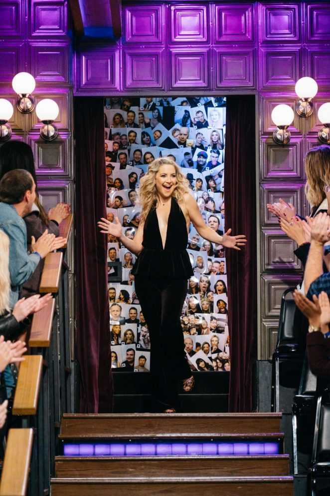 Kate Hudson – The Late Late Show with James Corden in LA