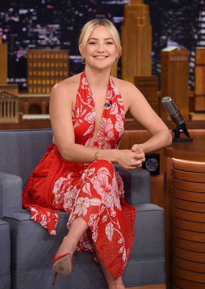 Kate Hudson - 'The Tonight Show with Jimmy Fallon' in New York