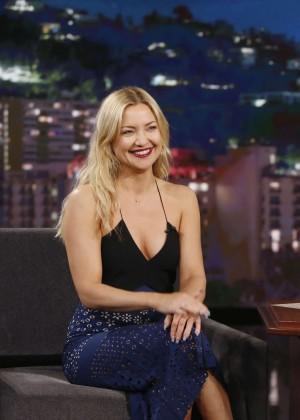 Kate Hudson - Visits 'Jimmy Kimmel Live!' in Hollywood