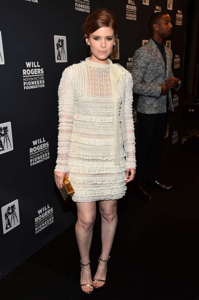 Kate Mara - 2015 Will Rogers Pioneer of the Year Dinner in Las Vegas