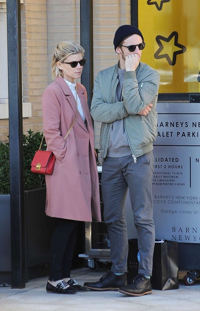 Kate Mara and Jamie Bell Holiday Shopping at Barneys in Beverly Hills
