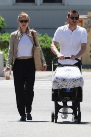 Kate Mara and Jamie Bell - Out in Burbank