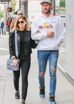 Kate Mara and Johnny Wujek out in Los Angeles
