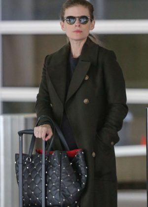 Kate Mara - Arriving at LAX airport in LA