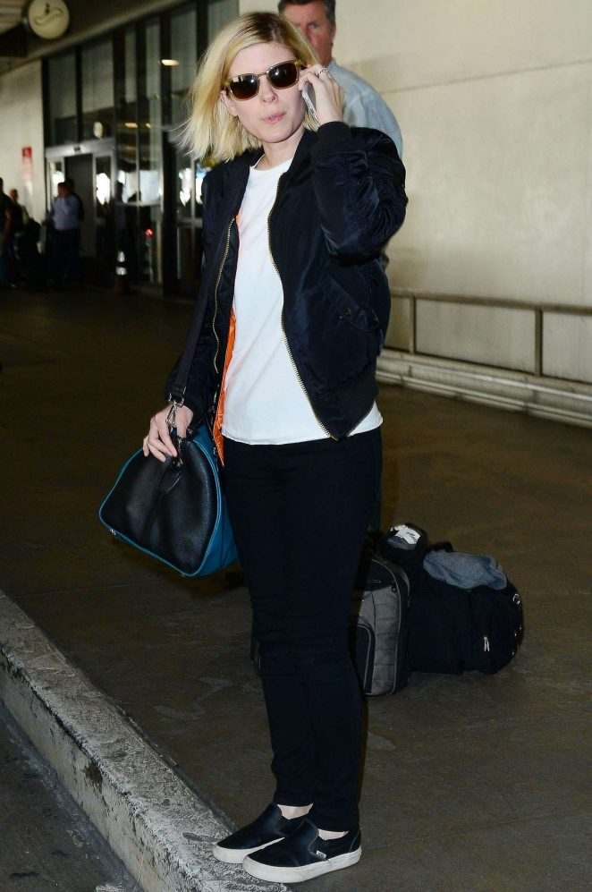 Kate Mara: Arriving at Los Angeles International Airport -15