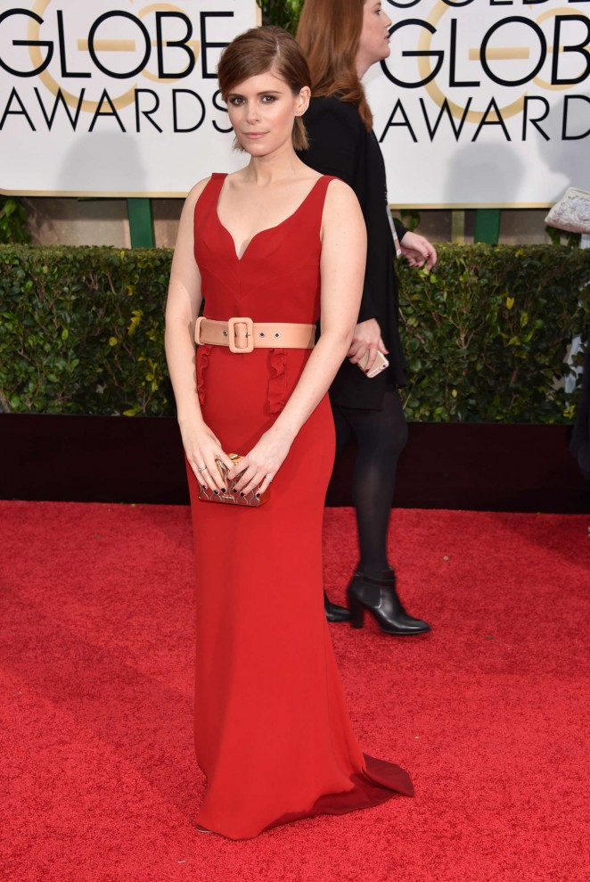 Kate Mara - 2015 Golden Globe Awards in Beverly Hills