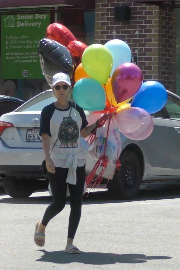 Kate Mara - Celebrate her stepson's birthday in Los Feliz