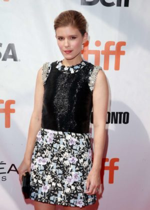 Kate Mara - Chappaquiddick premiere at the 2017 Toronto International FF