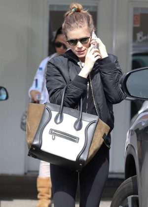 Kate Mara - Exiting Ballet Bodies in West Hollywood