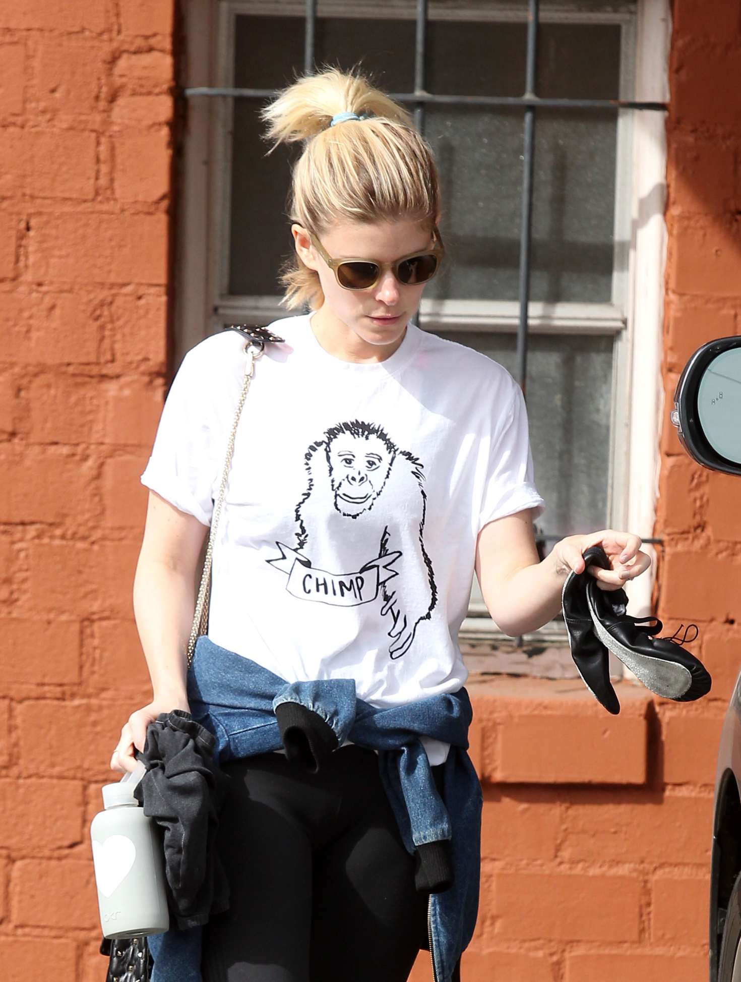 Kate Mara getting in a workout in West Hollywood