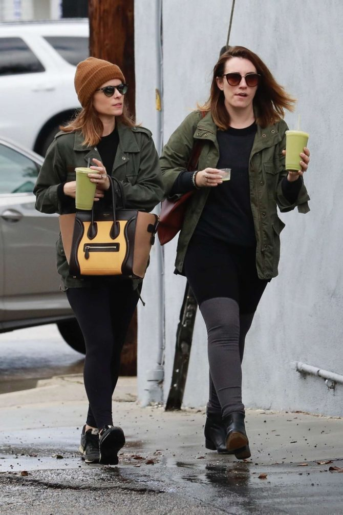 Kate Mara – Grabs some juice after her ballet class in LA
