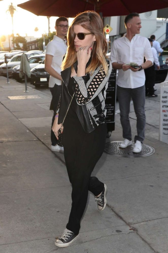 Kate Mara - Head to Craig's Restaurant in West Hollywood
