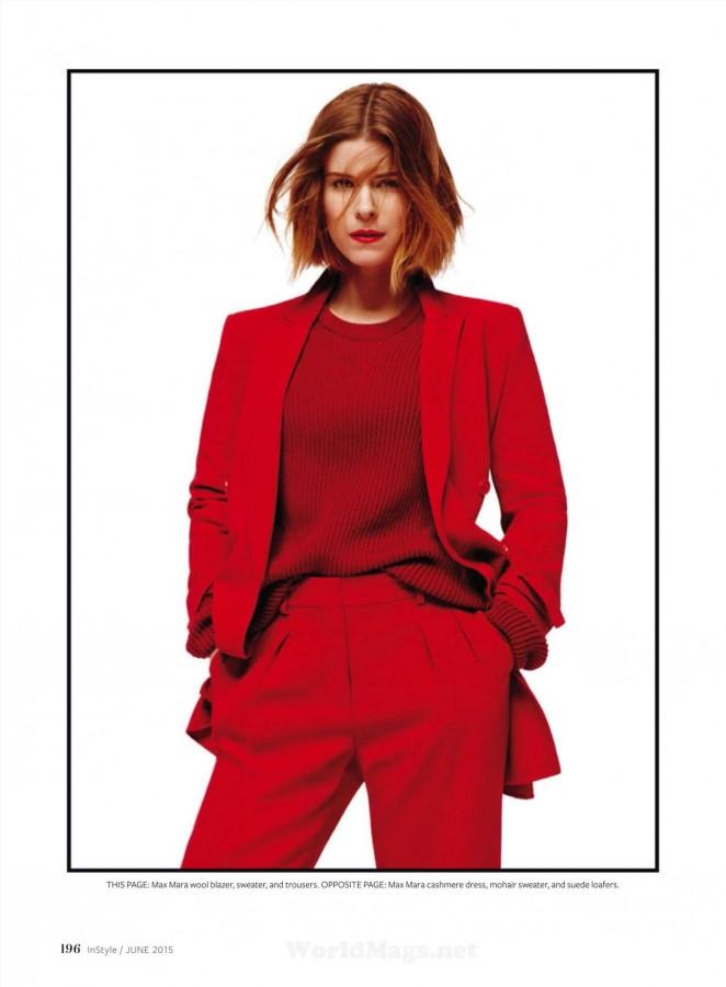 Kate Mara - InStyle US Magazine (June 2015)