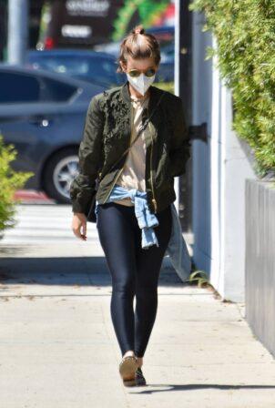 Kate Mara - Is seen in Los Angeles