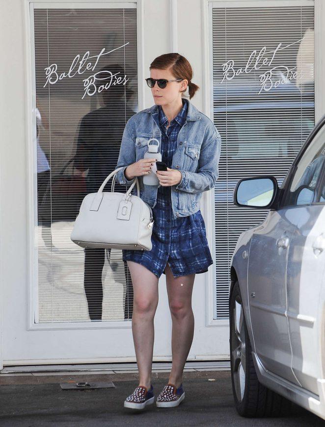 Kate Mara - Leaving ballet in Los Angeles