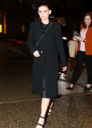 Kate Mara Leaving Dinner At Abc Kitchen In Nyc