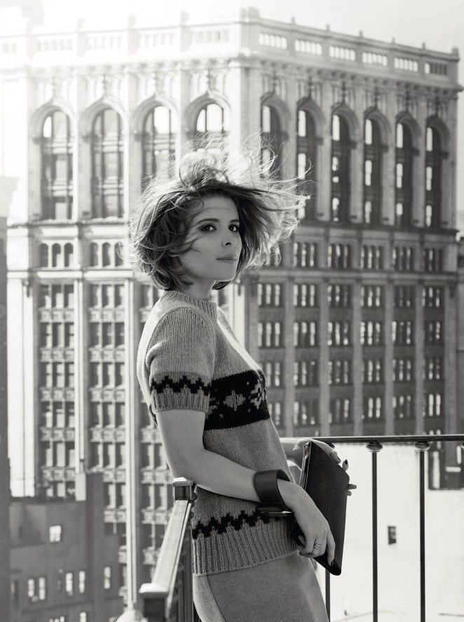 Kate Mara – Max Mara Photoshoot (Spring/Summer 2015)