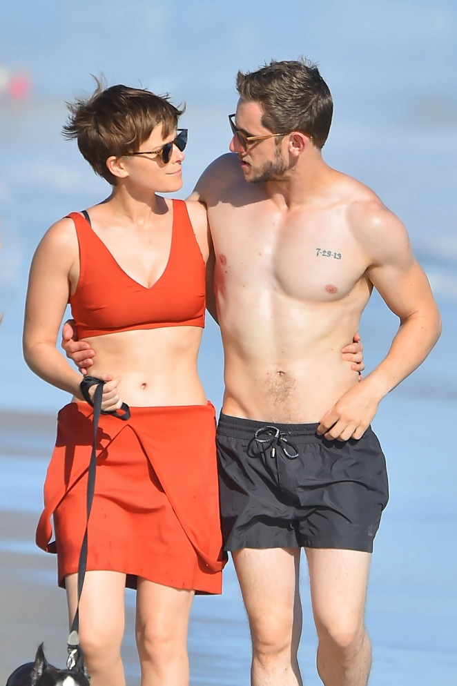 Kate Mara on The Beach in Malibu