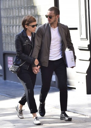 Kate Mara - Out and about in New York City