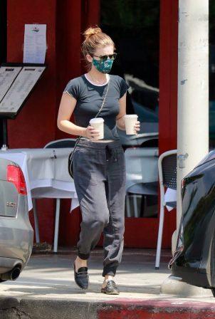 Kate Mara - Out for a coffe in Los Feliz - California