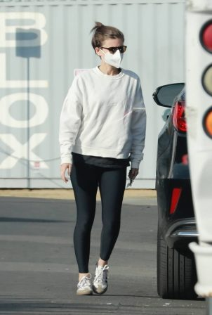 Kate Mara - Out in Los Angeles