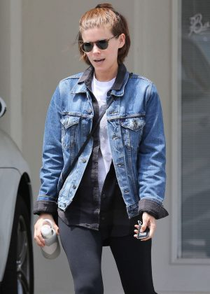 Kate Mara in Tight Leggings out in Los Angeles