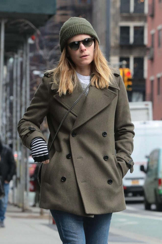 Kate Mara out in NYC