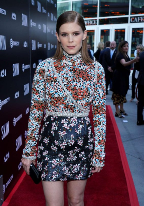 Kate Mara - Red Carpet at Special Screening Of A24's 'Skin' in Hollywood