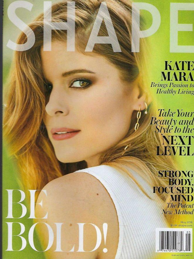 Kate Mara - Shape Cover Magazine (May 2018)