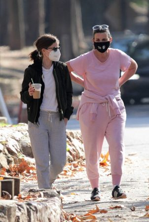 Kate Mara - Spotted on a hike in Los Angeles