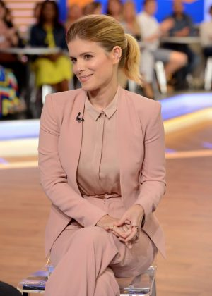 Kate Mara - Visiting Good Morning America in New York