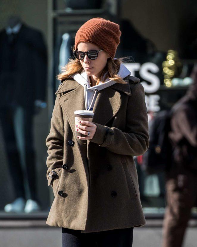 Kate Mara - Walking in New York City