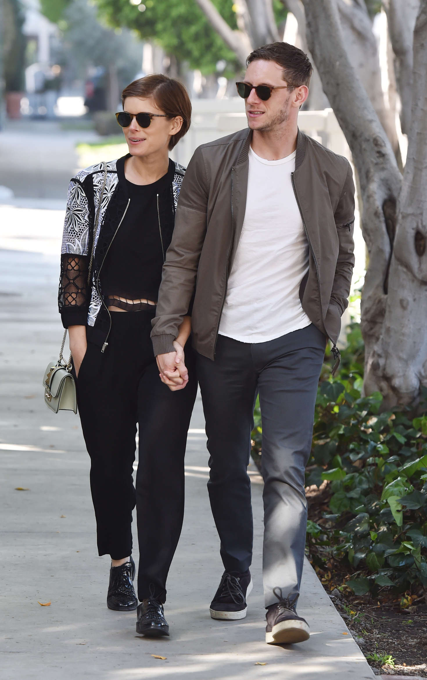 Kate Mara With Her Boyfriend Out In West Hollywood Gotceleb