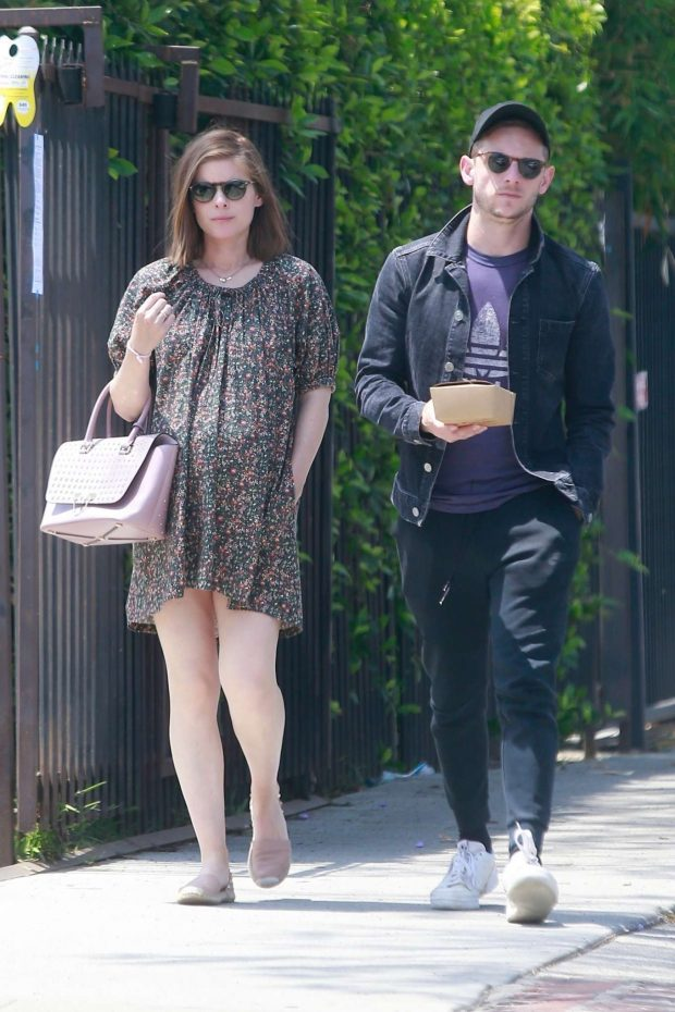 Kate Mara - With her husband out in Los Feliz
