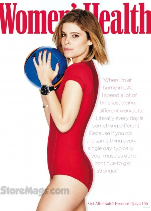Kate Mara - Women's Health Magazine (March 2015) adds