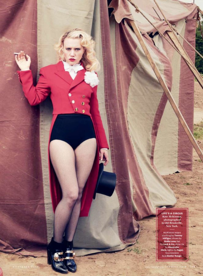Kate McKinnon - Vanity Fair Magazine (November 2017)