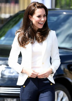 Kate Middleton - 1851 Trust Roadshow at the Docklands Sailing and Watersports Centre in London