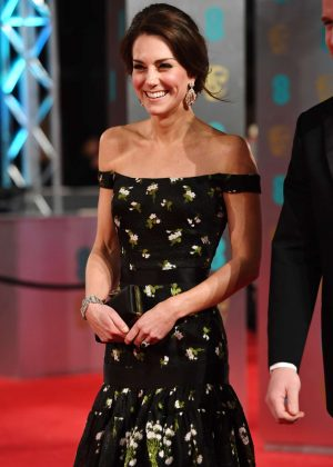 Kate Middleton - 2017 British Academy Film Awards in London