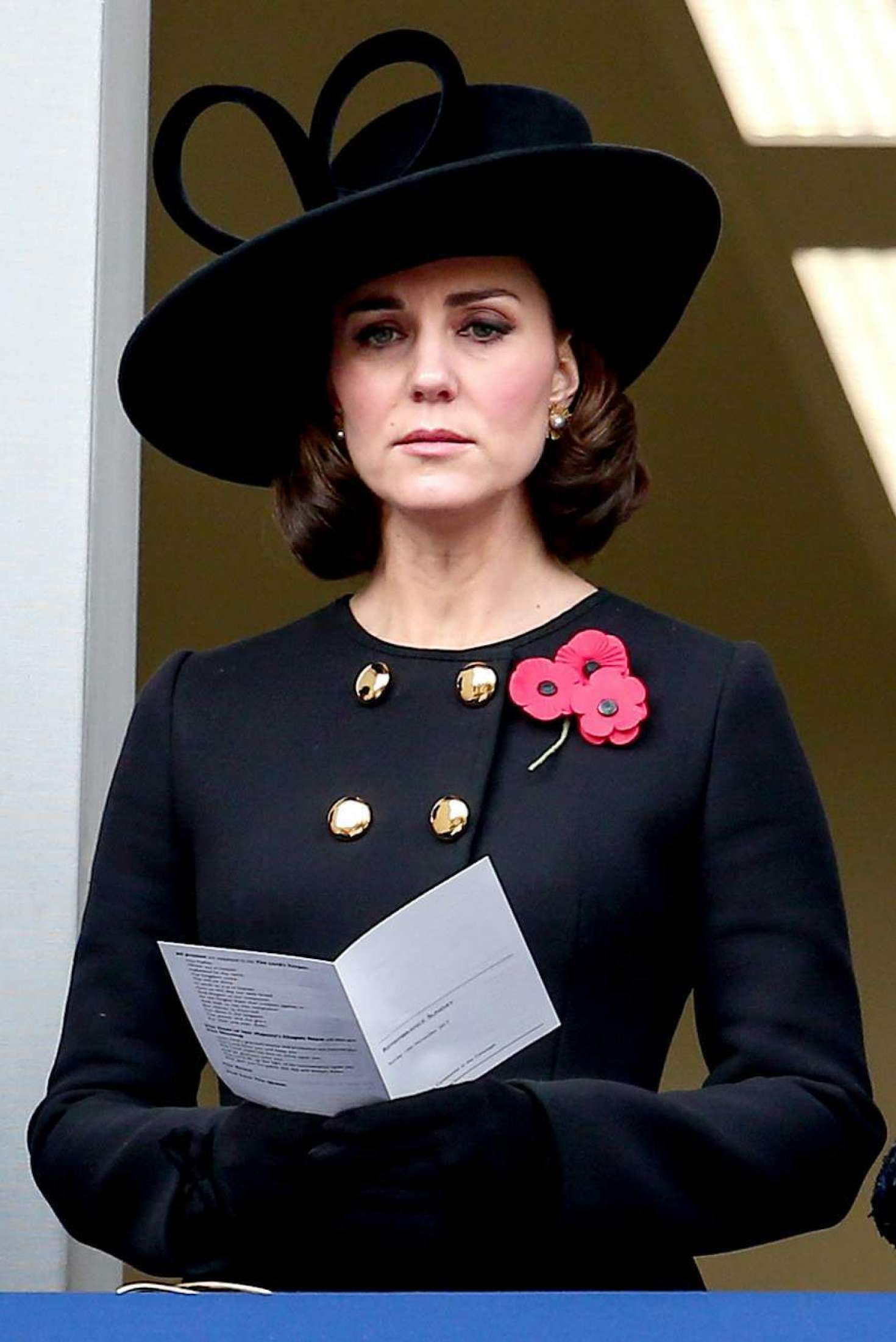 Kate Middleton - 2017 Remembrance Day Ceremony in London